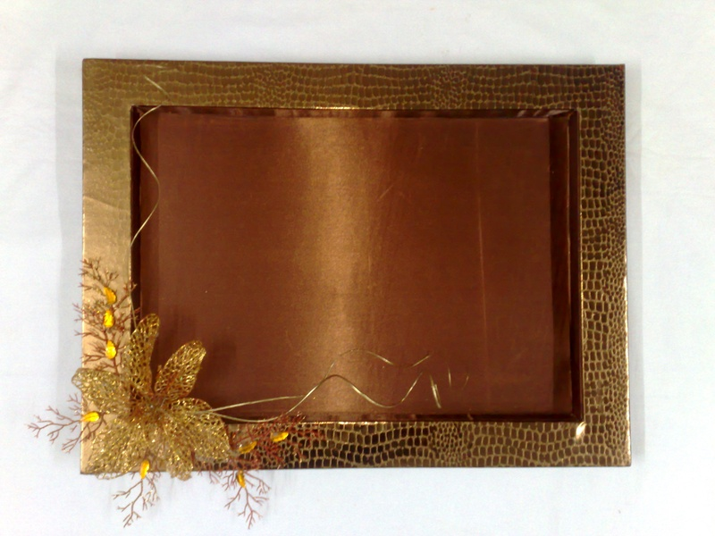 saree packing decorative trays www.ranjanaarts.com
