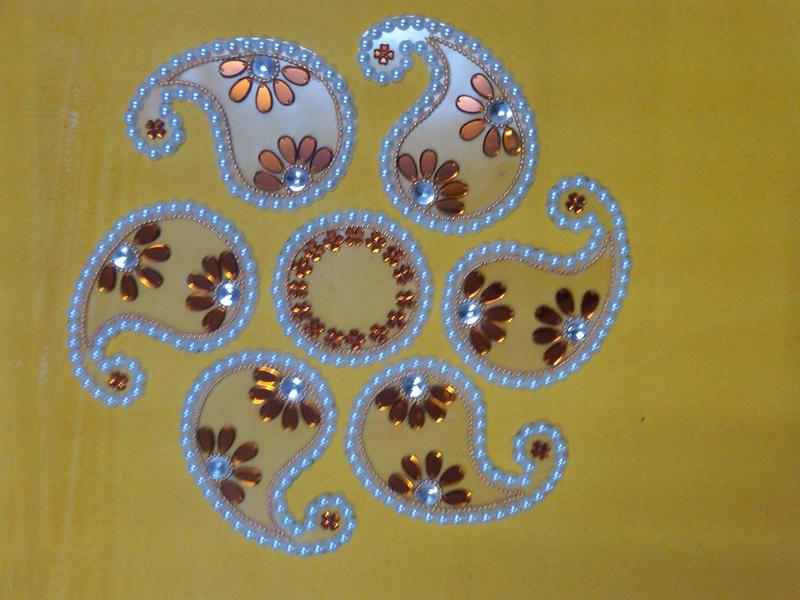 plastic  diwali rangoli 10